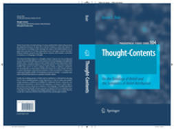 Boër, Steven E. - Thought-Contents, e-kirja