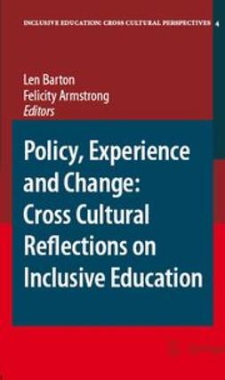 Armstrrong, F. - Policy, Experience and Change: Cross-Cultural Reflections on Inclusive Education, ebook