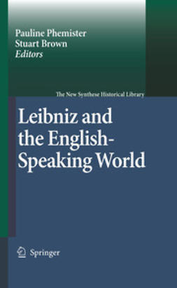 Brown, Stuart - Leibniz and the English-Speaking World, e-bok