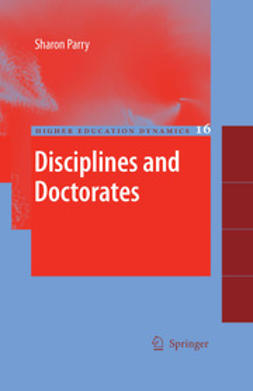 Parry, Sharon - Disciplines and Doctorates, ebook