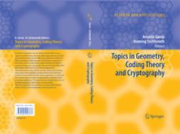 Garcia, Arnaldo - Topics in Geometry, Coding Theory and Cryptography, e-kirja