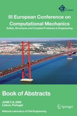 Ambrósio, Jorge A. C. - III European Conference on Computational Mechanics, e-kirja