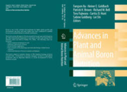 BELL, RICHARD W. - Advances in Plant and Animal Boron Nutrition, ebook