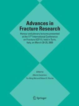 Carpinteri, Alberto - Advances in Fracture Research, ebook