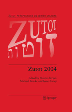 Berger, Shlomo - Zutot 2004, e-bok