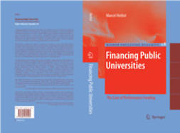 Herbst, Marcel - Financing Public Universities, ebook