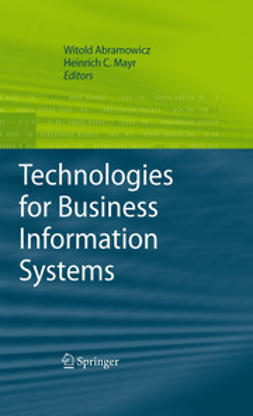 Abramowicz, Witold - Technologies for Business Information Systems, e-kirja