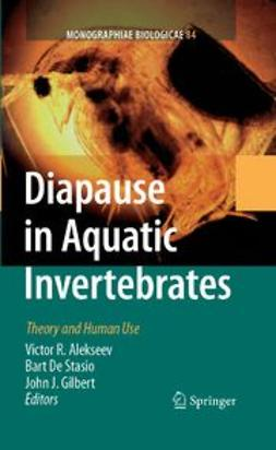 Alekseev, Victor R. - Diapause in Aquatic Invertebrates Theory and Human Use, e-bok
