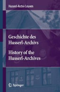 Leuven, Husserl-Archives - History of the Husserl-Archives Leuven, ebook