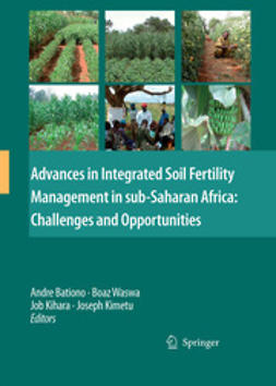 Bationo, Andre - Advances in Integrated Soil Fertility Management in sub-Saharan Africa: Challenges and Opportunities, ebook