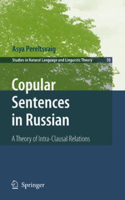 Pereltsvaig, Asya - Copular Sentences In Russian, ebook