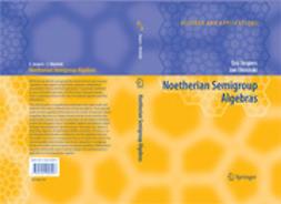 Jespers, Eric - Noetherian Semigroup Algebras, e-bok
