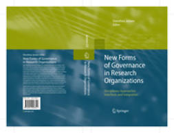 Jansen, Dorothea - New Forms of Governance in Research Organizations, ebook