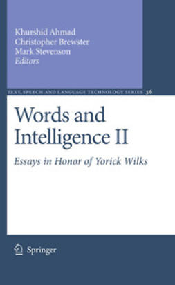 Ahmad, Khurshid - Words and Intelligence II, ebook