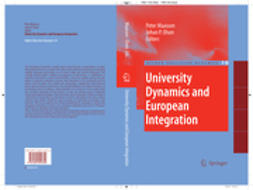 Maassen, Peter - University Dynamics and European Integration, ebook