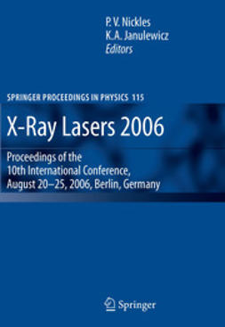 Janulewicz, K.A. - X-Ray Lasers 2006, ebook