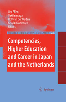 Allen, Jim - Competencies, Higher Education and Career in Japan and the Netherlands, e-bok