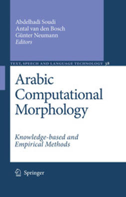 Bosch, Antal van den - Arabic Computational Morphology, ebook