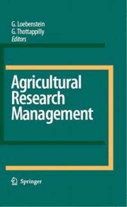 Loebenstein, Gad - Agricultural Research Management, ebook
