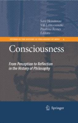 Heinämaa, Sara - Consciousness, ebook