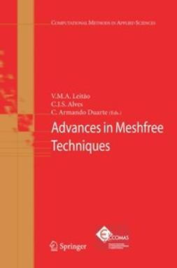 Alves, C. J. S. - Advances in Meshfree Techniques, e-kirja