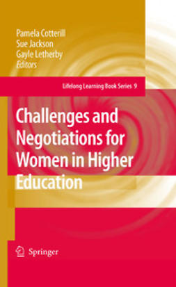 Cotterill, Pamela - Challenges and Negotiations for Women in Higher Education, ebook