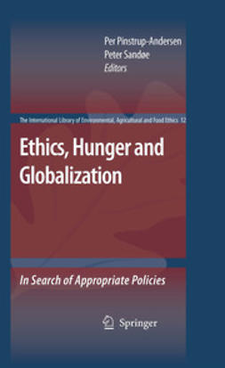 Pinstrup-Andersen, Per - Ethics, Hunger and Globalization, ebook