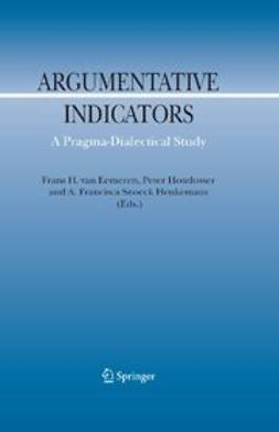 Eemeren, Frans H. - Argumentative Indicators in Discourse, ebook
