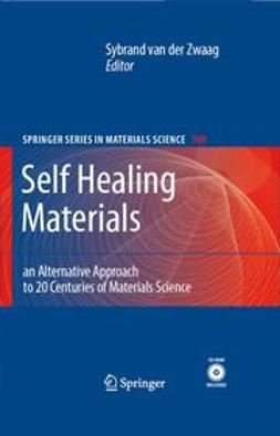 Zwaag, Sybrand - Self Healing Materials, ebook
