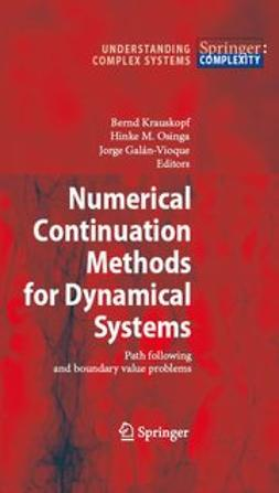 Galán-Vioque, Jorge - Numerical Continuation Methods for Dynamical Systems, ebook