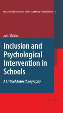 Quicke, John - Inclusion and Psychological Intervention in Schools, ebook