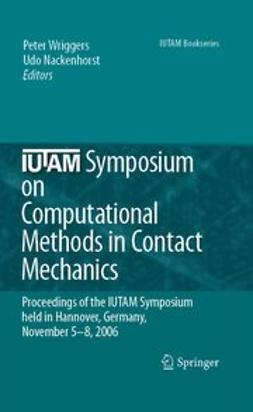 Nackenhorst, Udo - IUTAM Symposium on Computational Methods in Contact Mechanics, ebook