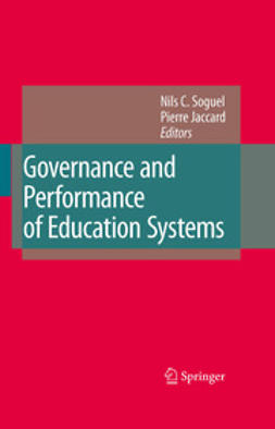 Jaccard, Pierre - Governance and Performance of Education Systems, ebook