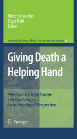 Birnbacher, Dieter - Giving Death a Helping Hand, ebook