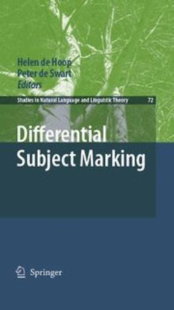Hoop, Helen - Differential Subject Marking, ebook