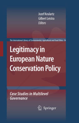 Keulartz, Jozef - Legitimacy In European Nature Conservation Policy, ebook