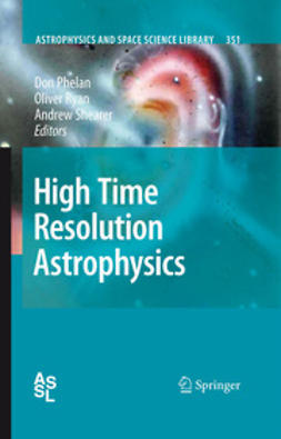 High Time Resolution Astrophysics