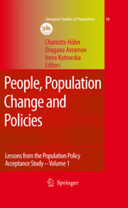 Avramov, Dragana - People, Population Change and Policies, ebook
