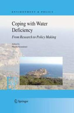 Koundouri, Phoebe - Coping with Water Deficiency, e-bok