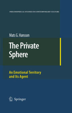 Hansson, Mats G. - The Private Sphere, ebook