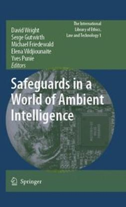 Ahonen, Pasi - Safeguards in a World of Ambient Intelligence, ebook