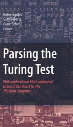 Beber, Grace - Parsing the Turing Test, e-kirja