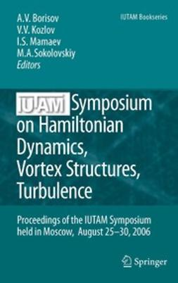 Borisov, Alexey V. - IUTAM Symposium on Hamiltonian Dynamics, Vortex Structures, Turbulence, ebook