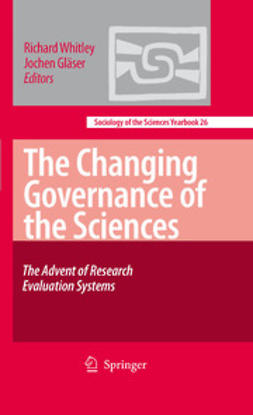 Gläser, Jochen - The Changing Governance of the Sciences, ebook