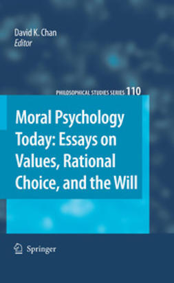 Chan, David K. - Moral Psychology Today, ebook