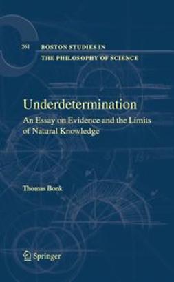 Bonk, Thomas - Underdetermination, ebook