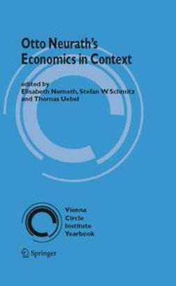 Nemeth, Elisabeth - Otto Neurath's Economics in Context, ebook