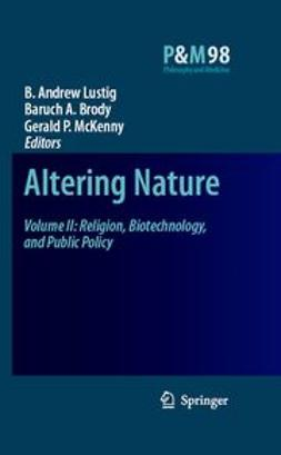 Brody, Baruch A. - Altering Nature, ebook