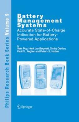 Bergveld, Henk Jan - Battery Management Systems, ebook