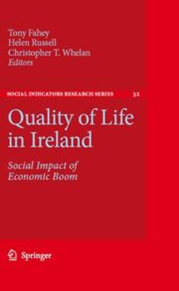 Fahey, Tony - Quality of Life in Ireland, ebook